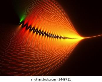 dynamic fractal composition