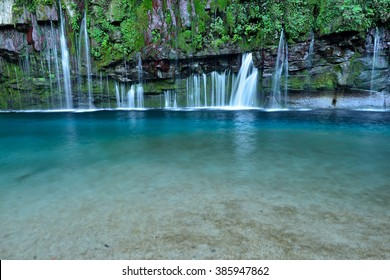 Dynamic Ogawa waterfall Kagoshima,Japan