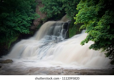 Dzhurinsky waterfall - a waterfall on the river Dzhurin in Zaleschitsky district of Ternopil region of Ukraine. The height of the waterfall is 16 meters.