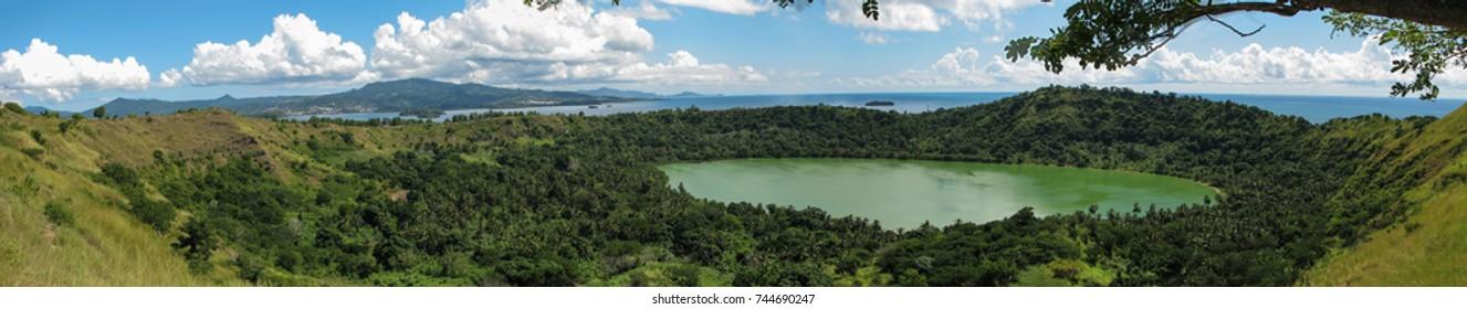 Dziani Lake viewpoint, Mayotte