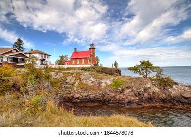Eagle Harbor Lighthouse , Eagle Harbor Michigan