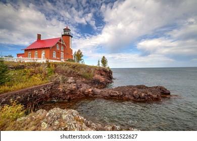 Eagle Harbor Michigan Lighthouse Landscapes