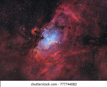 The Eagle Nebula with the Pillars of Creation