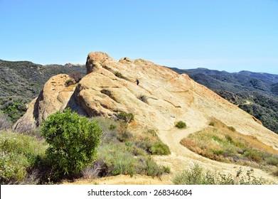 Eagle Rock. Topanga Park, California.