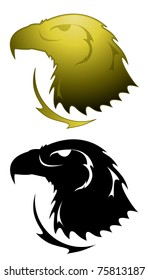 Eagle symbol - raster