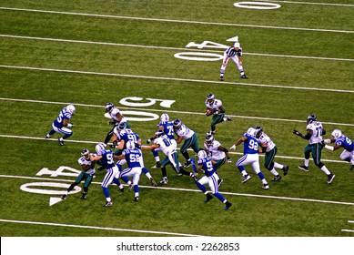 Eagles vs colts 11/26/06.  Bryan Westbrook w/ ball