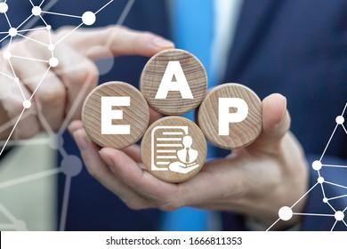 EAP Mitarbeiter-Assistenzprogramm Business Care Konzept.
