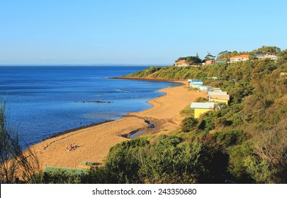 Earimil Beach, Mount Eliza, Mornington Peninsula, Victoria, Australia