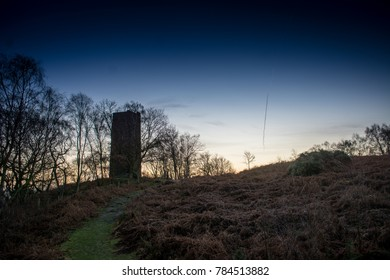 The Earl Grey Tower, Stanton Moor, Peak District, Derbyshire
