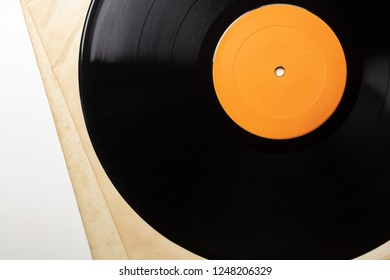 Early 1970s  LP record or analog disc (33 1/3 RPM / 12 inch),  on white.