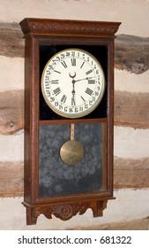 Early American Wall Clock