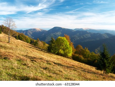 Early autumn in Big Fatra