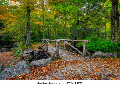 Early Autumn at Macedonia Falls State Park in Kent, Connecticut, USA.