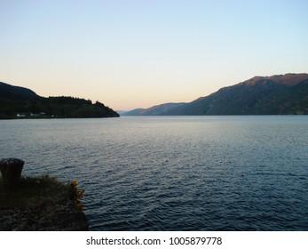 Early evening - Loch Ness, Scotland