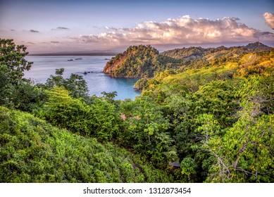 Early evening in Manuel Antonio, Costa Rica