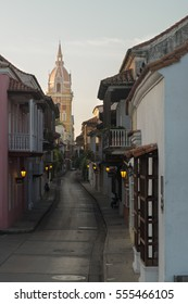 Early morning in Cartagena, Colombia