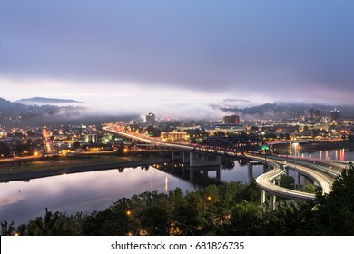 Early Morning in Charleston, WV