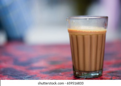 the early morning cutting chai...