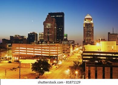 Early Morning in Louisville, Kentucky