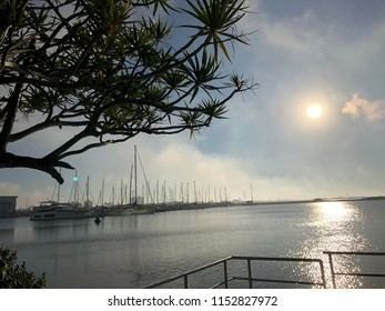 Early morning at Marina Itajai.