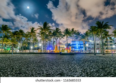 An Early Morning from Miami Beach's South Beach in Florida