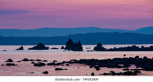 Early Morning, Mono Lake Tufa