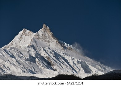 Early morning on Manaslu