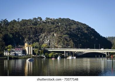 Early morning, Paterson Bridge, Launceston, Tasmania