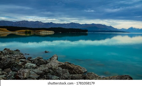 Early morning at Pukaki Lake