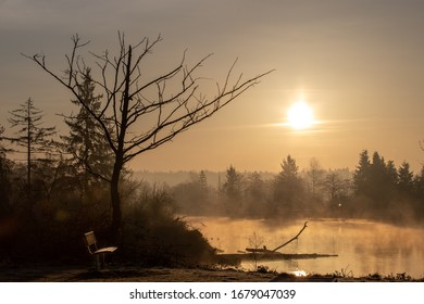 Early Morning Sunrise on the Snohomish River in Washington State