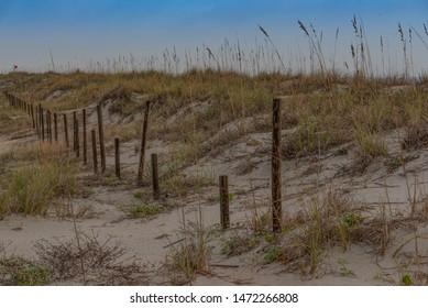 Early morning walk around St. Augustine Beach, Anastasia Park, Florida.  Back to school next week.  Enjoying the summer.  No sharks here. Beautiful sand dunes.