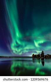 Early northern lights has been shown in Finland this year in the city of Oulu at 22.9.2018