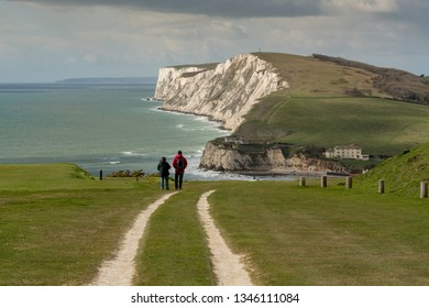 A early spring day on the Isle of Wight, England.