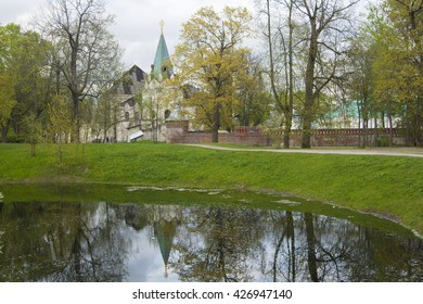 Early spring in Fyodorovsky gorodok (Fyodor town) in Pishkin