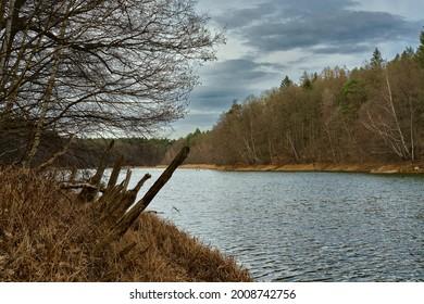 "Early spring at lake ""Ihlandsee"" near Strausberg"