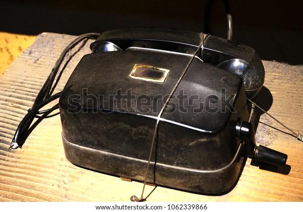 An early telephone