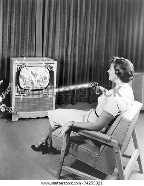 Телевизор раннего Зенита дистанционного управления, июнь 1955