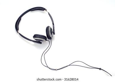 earphone isolated on white background