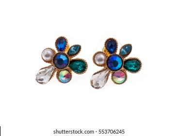 earrings jewelry gold