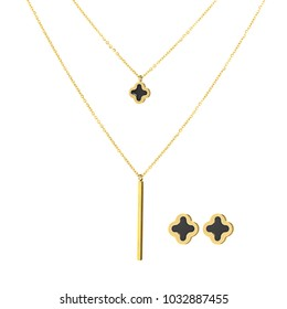 Earrings and jewelry pendants