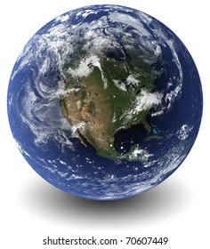 Earth 3D (Clouds&Topography maps come from earthobervatory/nasa)