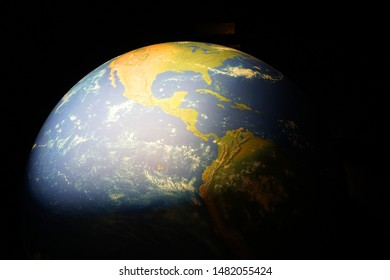 earth in the dark night as nice background
