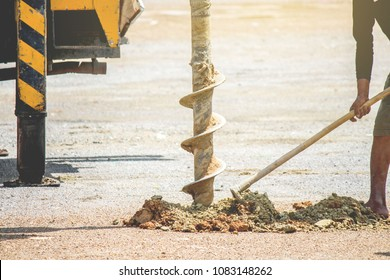 Earth Drillers,Earth Drill for electric installation