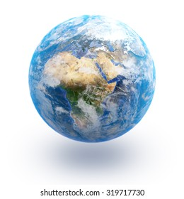 The Earth; Elements of this image are furnished by NASA