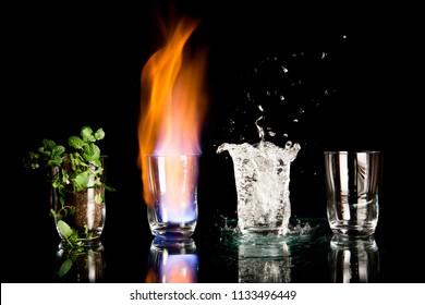 earth fire water air