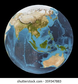 The Earth / Gaia / Terra - View of the Indian ocean - Elements of this image furnished by NASA