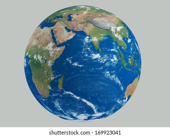Earth gray background Elements of this image furnished by NASA