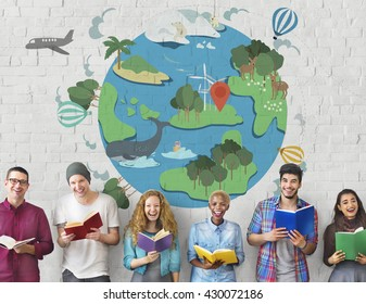 Earth Life Global Nature Animals Concept