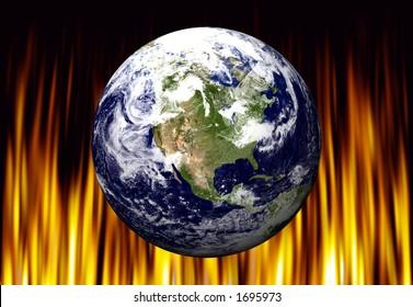 EARTH OVER FIRE - USA