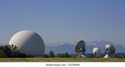 Earth radio station  in Raisting